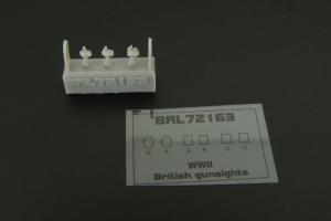 British reflector gunsight WWII