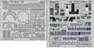 F-15E interior