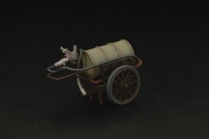 Japanese refueling cart