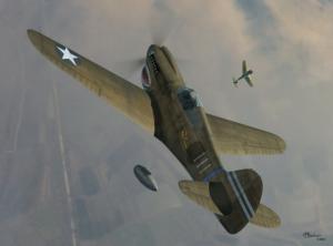P-40K WARHAWK