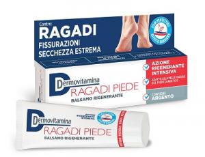DERMOVITAMINA RAGADI PIEDI - BALSAMO CON AZIONE RIGENERANTE INTENSIVA