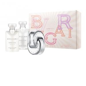 Bvlgari Omnia Crystalline Eau de Toilette Spray 40 ml + Bath & Shower Gel 40 ml + Body Lotion 40 ml