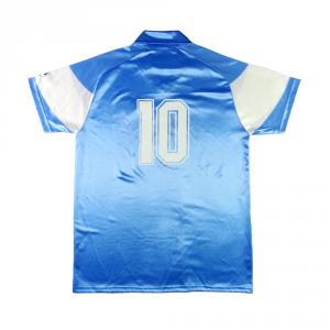 1990-91 Napoli Maglia Home #10 Maradona L (Top)