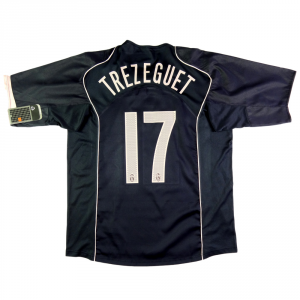 2004-05 Juventus Maglia Away #17 Trezeguet XL *Cartellino