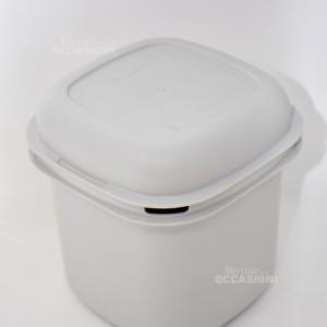 Contenitore Grigio Tupperware H14.5-larghezza13cm