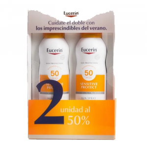Eucerin Sun Spray TransparenteSpf50 200ml Duplo