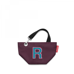 Reisenthel - MyBag - Borsa da donna di piccole dimensioni con lettera R viola cod. MY0217