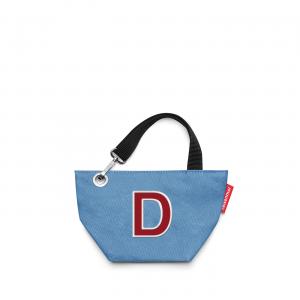 Reisenthel - MyBag - Borsa da donna di piccole dimensioni con lettera D azzurro cod. MY0204