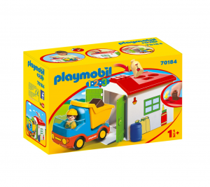 PLAYMOBIL CAMION CON CASSONE 1.2.3 70184