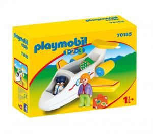 PLAYMOBIL AEREO PASSEGGERI 1.2.3 70185