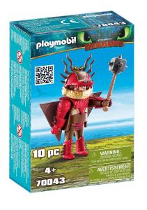 PLAYMOBIL MOCCICOSO CON TUTA DA VOLO 70043