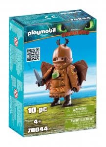 PLAYMOBIL GAMBEDIPESCE CON TUTA DA VOLO 70044