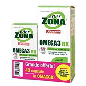 Enerzona Omega 3  RX 120 + 48 cps