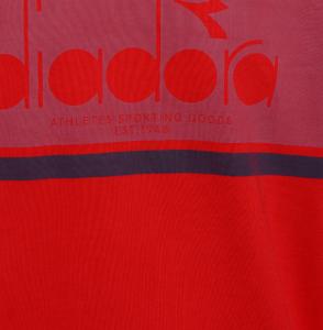 Felpa Diadora Rosso