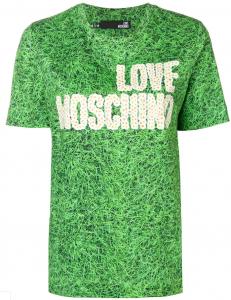 T-shirt Love Moschino Prato