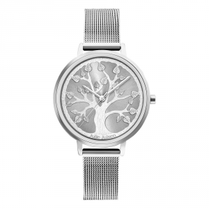 JULIE JULSEN TREE OF LIFE SILVER MESH