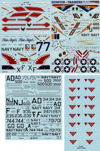 TA-4J SKYHAWK SCOTTER TRAINERS