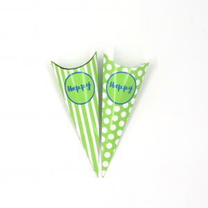 Cono Portaconfetti Verde
