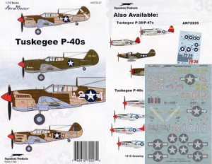 TUSKEGEE P-40S