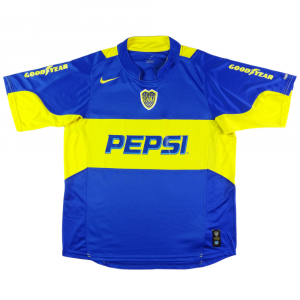 2004-05 Boca Juniors MAGLIA HOME L (Top)