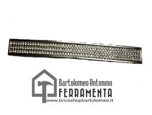 Maniglia per mobili moderna cromo lucido con zirconi
