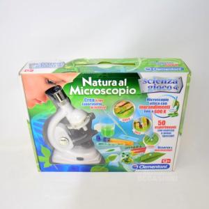 Microscopio Bianco Completo Da Bambino