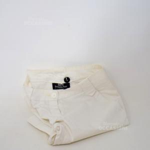 Pantalone Bambina Patrizia Pepe Bianco Tg. Xxl
