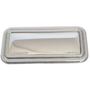 Blasone placca rettangolare in argento cm.5,3x2,5x0,3h