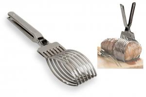 Pinza arrosto acciaio inox cm.29,5x6,8