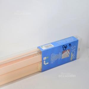 Tenda A Lamelle Orizzontali Rosa/beige In Pvc (disponibili 3 Pezzi )