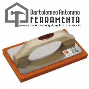 Frattone alluminio gomma 820/2 240X100X16 arancio