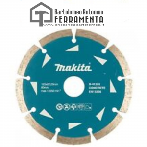 Disco Diamantato 115mm Makita D-41589