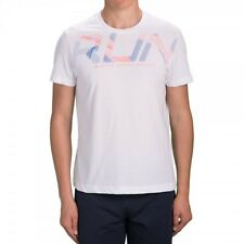 T SHIRT LOTTO TEE RUN WHT/ORA 805 T2672