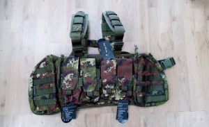 OPENLAND TACTICAL  GEAR KING CHEST  VEGETATO
