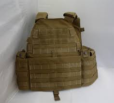 TACTICAL VEST EVOLUTION GEAR TAN