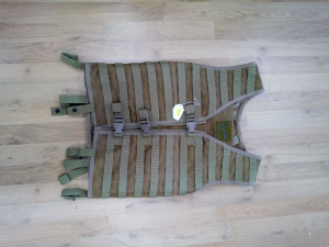 TACTICAL VEST HUNTER COLOR TAN