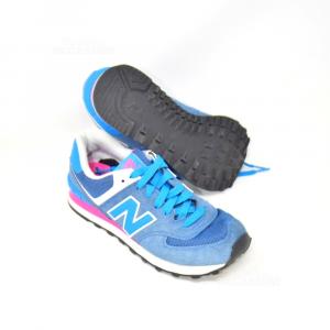 Scarpe New balance Blu Fucsia N 37