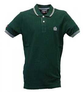 T SHIRT POLO ADMIRAL GREEN/WHITE ADM749