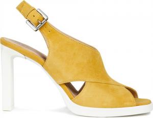Detalles de GEOX RESPIRA OTTAYA D92BYE scarpe ragazza donna sneakers pelle paillettes zeppa