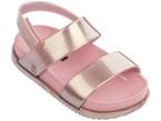 Sandali rosa con chiusura in velcro
