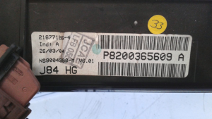 Quadro portastrum. usato Renault Scenic 2à serie 1.9 dci dal 2003>