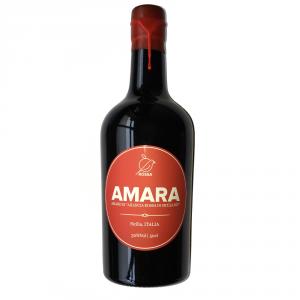 Rossa - Amaro d'arancia rossa Amara
