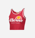 TOP ELLESSE HERITAGE RED CON LOGO 892502