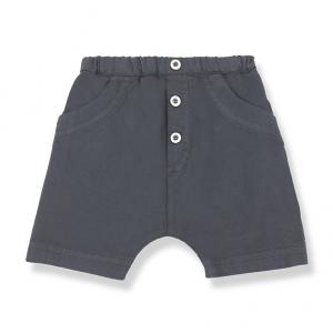 Pantaloncino con vita elasticizzata e tasconi