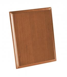 Crest rettangolare legno chiaro cm.20x25x1,5h