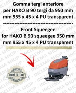 B 90 (saug von 950 mm) Vorne sauglippen für scheuersaugmaschinen HAKO