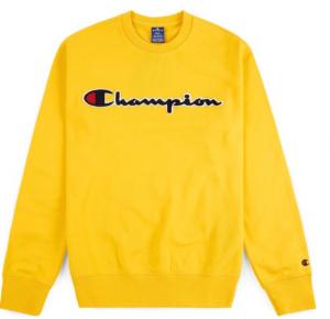 Felpa Champion Giallo