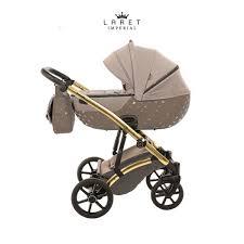 Tako Baby - Laret Imperial - trio completo di accessori- beige e oro !