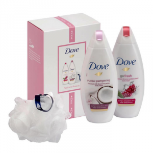 Dove Radiant Beauty Purely Pampering Body Wash 250ml Set 3 Parti 2019
