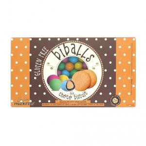 Confetti Maxtris Biballs Choco Biscuit Mix
